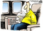 Cartoonist Mike Peters  Mike Peters' Editorial Cartoons 2010-01-01 air travel