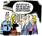 Cartoonist Mike Peters  Mike Peters' Editorial Cartoons 2010-01-08 air travel