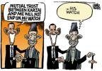Cartoonist Mike Peters  Mike Peters' Editorial Cartoons 2010-05-14 Afghanistan