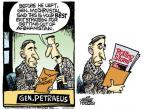 Cartoonist Mike Peters  Mike Peters' Editorial Cartoons 2010-06-25 Afghanistan