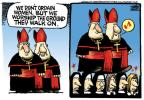 Cartoonist Mike Peters  Mike Peters' Editorial Cartoons 2010-07-20 religious