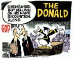 Cartoonist Mike Peters  Mike Peters' Editorial Cartoons 2011-04-20 republican
