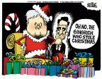 Cartoonist Mike Peters  Mike Peters' Editorial Cartoons 2011-12-07 Christmas