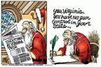 Cartoonist Mike Peters  Mike Peters' Editorial Cartoons 2011-12-10 Christmas