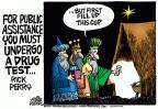 Cartoonist Mike Peters  Mike Peters' Editorial Cartoons 2011-12-27 Christmas
