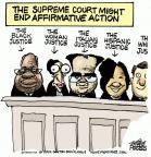 Cartoonist Mike Peters  Mike Peters' Editorial Cartoons 2012-02-24 supreme court judge