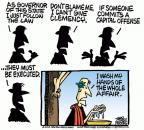 Cartoonist Mike Peters  Mike Peters' Editorial Cartoons 2012-04-19 death penalty