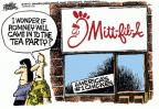 Cartoonist Mike Peters  Mike Peters' Editorial Cartoons 2012-08-02 tea party