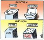 Cartoonist Mike Peters  Mike Peters' Editorial Cartoons 2012-08-14 ballot box