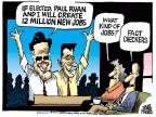 Cartoonist Mike Peters  Mike Peters' Editorial Cartoons 2012-09-19 Romney Ryan