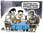 Cartoonist Mike Peters  Mike Peters' Editorial Cartoons 2012-09-28 tax