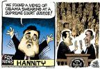 Cartoonist Mike Peters  Mike Peters' Editorial Cartoons 2012-10-04 Supreme Court