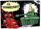 Cartoonist Mike Peters  Mike Peters' Editorial Cartoons 2012-12-28 Gulf war