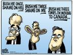 Cartoonist Mike Peters  Mike Peters' Editorial Cartoons 2013-03-08 Jeb Bush