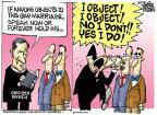 Cartoonist Mike Peters  Mike Peters' Editorial Cartoons 2013-03-22 same-sex marriage