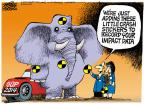 Cartoonist Mike Peters  Mike Peters' Editorial Cartoons 2013-10-16 government shutdown