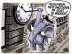 Cartoonist Mike Peters  Mike Peters' Editorial Cartoons 2013-10-18 tea party