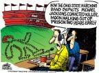 Cartoonist Mike Peters  Mike Peters' Editorial Cartoons 2013-10-31 convict
