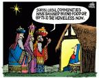 Cartoonist Mike Peters  Mike Peters' Editorial Cartoons 2013-11-29 Christmas