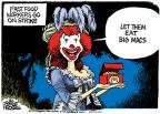 Cartoonist Mike Peters  Mike Peters' Editorial Cartoons 2013-12-06 food