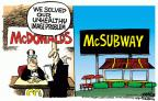 Cartoonist Mike Peters  Mike Peters' Editorial Cartoons 2013-12-26 food