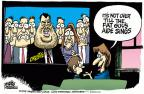 Cartoonist Mike Peters  Mike Peters' Editorial Cartoons 2014-01-21 sing