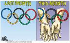 Cartoonist Mike Peters  Mike Peters' Editorial Cartoons 2014-03-06 Russia Olympics