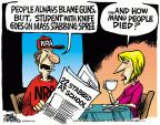 Cartoonist Mike Peters  Mike Peters' Editorial Cartoons 2014-04-10 student