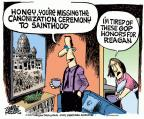 Cartoonist Mike Peters  Mike Peters' Editorial Cartoons 2014-04-25 religious ideology