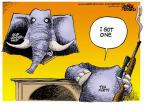 Cartoonist Mike Peters  Mike Peters' Editorial Cartoons 2014-06-11 leadership