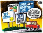 Cartoonist Mike Peters  Mike Peters' Editorial Cartoons 2014-07-03 supreme court decision