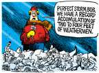 Cartoonist Mike Peters  Mike Peters' Editorial Cartoons 2015-01-28 season