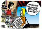 Cartoonist Mike Peters  Mike Peters' Editorial Cartoons 2015-02-20 Bill O'Reilly