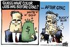 Cartoonist Mike Peters  Mike Peters' Editorial Cartoons 2015-02-28 Jeb Bush