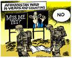 Cartoonist Mike Peters  Mike Peters' Editorial Cartoons 2015-03-27 Afghanistan
