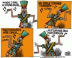 Cartoonist Mike Peters  Mike Peters' Editorial Cartoons 2015-11-06 education