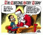 Cartoonist Mike Peters  Mike Peters' Editorial Cartoons 2015-12-30 Christmas