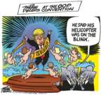 Cartoonist Mike Peters  Mike Peters' Editorial Cartoons 2016-07-21 republican convention