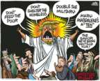 Cartoonist Mike Peters  Mike Peters' Editorial Cartoons 2017-02-09 presidential