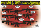 Cartoonist Mike Peters  Mike Peters' Editorial Cartoons 2018-02-27 gun violence
