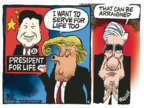 Cartoonist Mike Peters  Mike Peters' Editorial Cartoons 2018-03-09 life