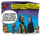 Cartoonist Mike Peters  Mike Peters' Editorial Cartoons 2018-04-12 military