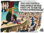 Cartoonist Mike Peters  Mike Peters' Editorial Cartoons 2018-04-26 presidential appointment