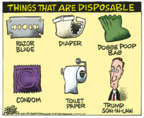 Cartoonist Mike Peters  Mike Peters' Editorial Cartoons 2018-05-04 Jared Kushner