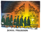 Cartoonist Mike Peters  Mike Peters' Editorial Cartoons 2018-05-18 graduation