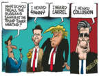 Cartoonist Mike Peters  Mike Peters' Editorial Cartoons 2018-05-21 Robert Mueller