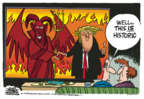 Cartoonist Mike Peters  Mike Peters' Editorial Cartoons 2018-06-13 foreign policy