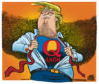 Cartoonist Mike Peters  Mike Peters' Editorial Cartoons 2018-08-09 presidential