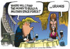 Cartoonist Mike Peters  Mike Peters' Editorial Cartoons 2018-08-21 presidential
