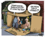 Cartoonist Mike Peters  Mike Peters' Editorial Cartoons 2018-08-31 cost